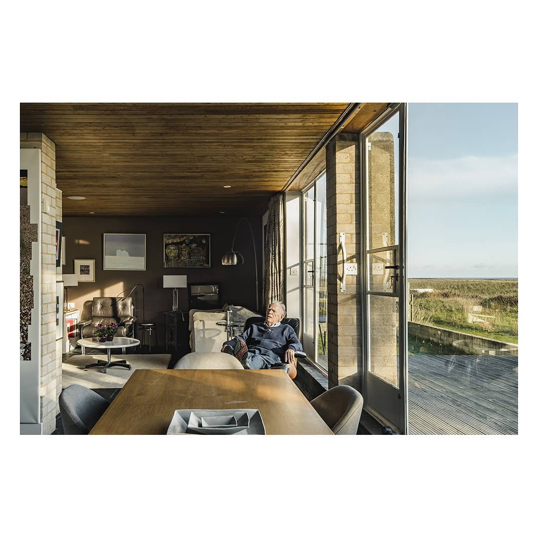 Themodernhouse for me the access to the outside through the garden at the back and onto the beachfront is terrific shingle street residents anne and